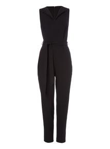 Black Tailored Jumpsuit