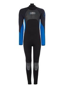 Mens Blue Full Wetsuit