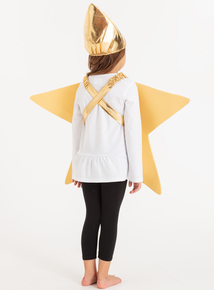 Christmas Nativity Gold Star Costume (one size)