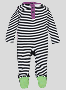 Halloween Multicoloured Monster Sleepsuit (0-24 months)