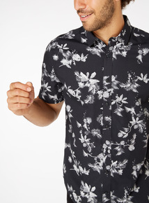 Regular Fit Floral Printed Shirt