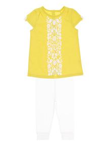 Girls Yellow Jersey Set (0 - 24 months)