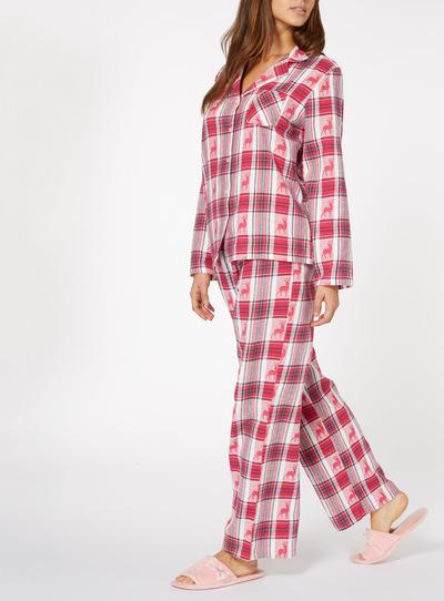 Stag Jacquard Pyjamas