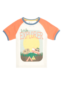 Boys Stone Explorer Tee (9 months - 5 years)