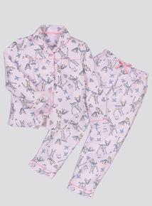Disney Bambi Pink Traditional Pyjamas (1.5 - 10 years)
