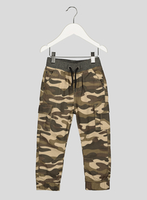 Camouflage Print Trousers (9 months- 6 years)
