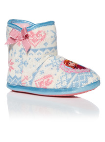 Girls Multicoloured Disney Frozen Slipper Boots