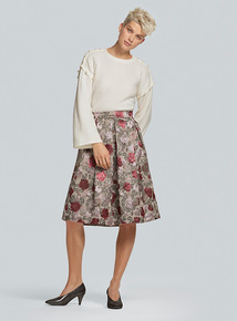 Jacquard Full Skirt