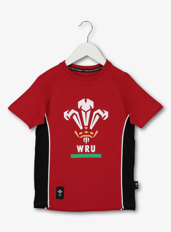 design intemporel grande remise de 2019 parcourir les dernières collections SKU AW19 RUGBY WORLD CUP WALES SS TEE:Red