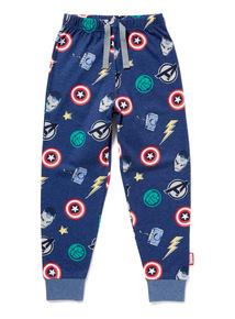 Navy Disney Marvel Avengers Pyjama Trousers