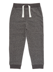 Boys Grey Textured Joggers (3-12 years)
