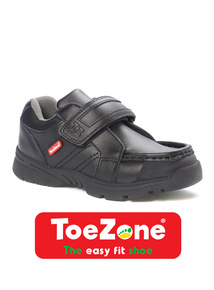 Black Wallaby ToeZone Shoes