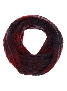 Ombre Knit Snood