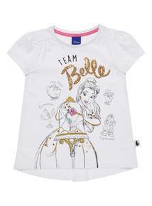 White Disney Belle Tee (1 - 7 years)
