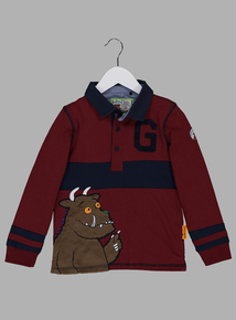 The Gruffalo Dark Red Rugby Top (9 months - 6 years)