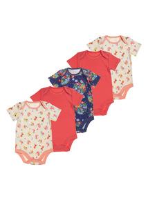 Girls Multicoloured Pear House Bodysuit