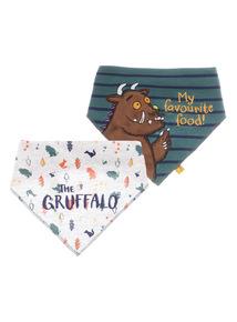 Green Gruffalo Hanky Bib (0-24 months)