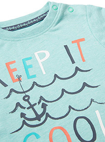 Green 'Keep It Cool' T-Shirt (0-24 months)