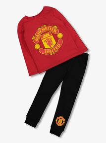 Online Exclusive Manchester United Red Pyjamas (2-12 years)