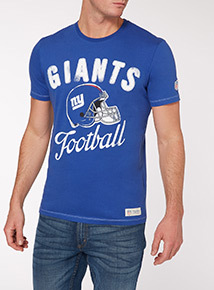 Blue NFL Giants Tee