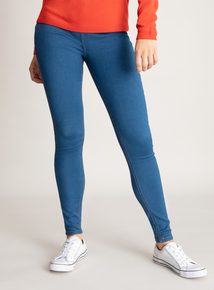 Mid Denim High Waisted Skinny Jeans