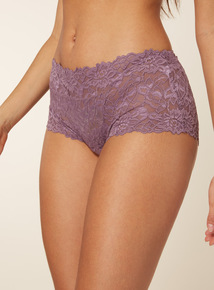 3 Pack Purple Galloon Lace Shorts