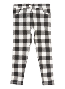 Black Gingham Jeggings (9 months-6 years)