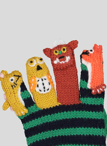 Multi Coloured The Gruffalo Puppet Gloves (3-9 years)