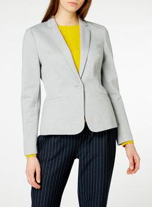 Grey Marl Ponte Blazer