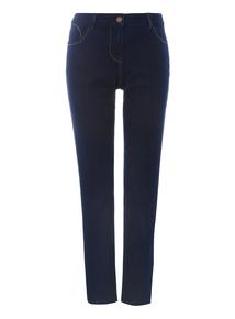 Dark Denim Straight Leg Jeans