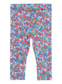 Multicoloured Floral Leggings (0 - 24 months)