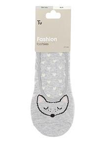 Novelty Animal Footsie Socks 3 Pack