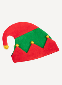 Christmas Multicoloured Elf Hat