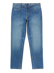 Light Denim Wash Slim Jeans