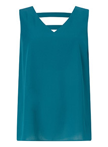 Teal Sleeveless Camisole Top