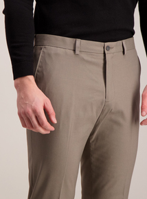 Fawn Stretch Tailored Fit Trousers