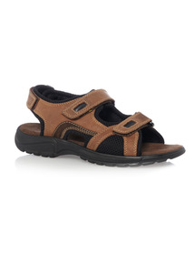 Brown Trekker Sandals