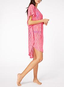 Pink Kaftan Dress