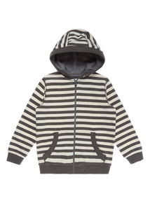 Boys Multicoloured Stripe Hoodie (9 months - 6 years)