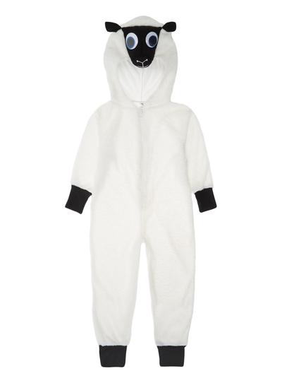 SKU AW15 CHRISTMAS SHEEPWhite7-8 years  sc 1 st  Tu clothing & All Boyu0027s Clothing Kids White Christmas Sheep Outfit (3-10 years ...