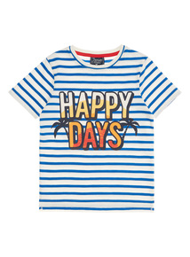 Boys Multicoloured Happy Days Tee (9 months - 6 years)