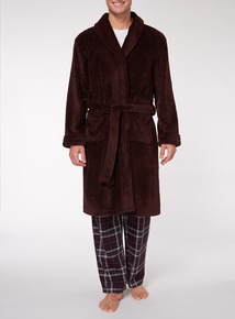 Burgundy Dressing Gown