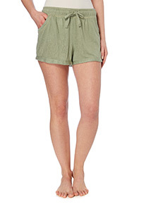 Green Tipped Pyjama Shorts