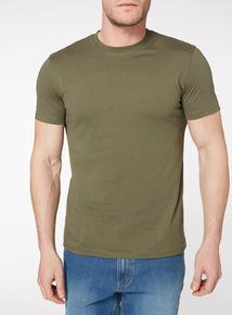Khaki Jersey T-Shirt
