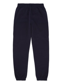 Unisex Teen Navy Cuffed Jogging Bottoms (13-16 years)