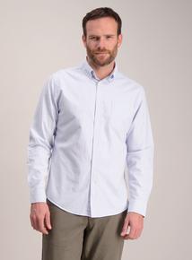 Blue Stripe Regular Fit Oxford Shirt
