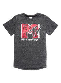 Charcoal MTV T-Shirt (3 - 14 Years)