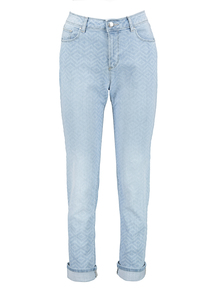 Light wash Girlfriend Jeans