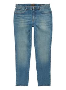 Green Tint Wash Skinny Stretch Denim Jeans