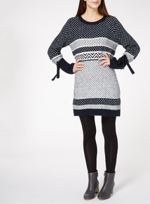 Jacquard Knitted Tunic